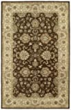 Kaleen Rugs Heirloom Collection 8804-49 Brown Hand Tufted 5' x 7'9'' Rug
