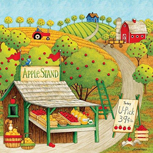 Ceaco Debbie Mumm - Apple Stand Puzzle