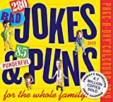280 Bad Jokes + 85 Punderful Puns Page-A-Day Desk Calendar 2019 [6'' x 6'' Inches]