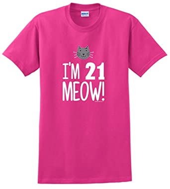 Birthday Gifts For All 21st Brother Im 21 Meow Cat