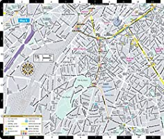Streetwise Brussels Map Laminated City Center Street Map of ...