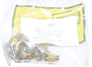 product image for Bag of 10 Clippard 11999 Short Coupling 10-32 THD