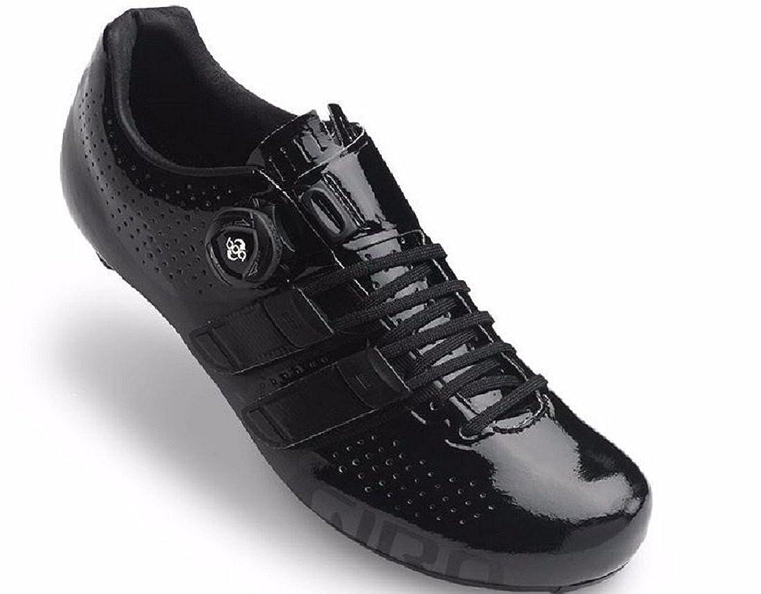 Giro Factor techlaceブラックロードバイク靴 B01LDMAWRY   49