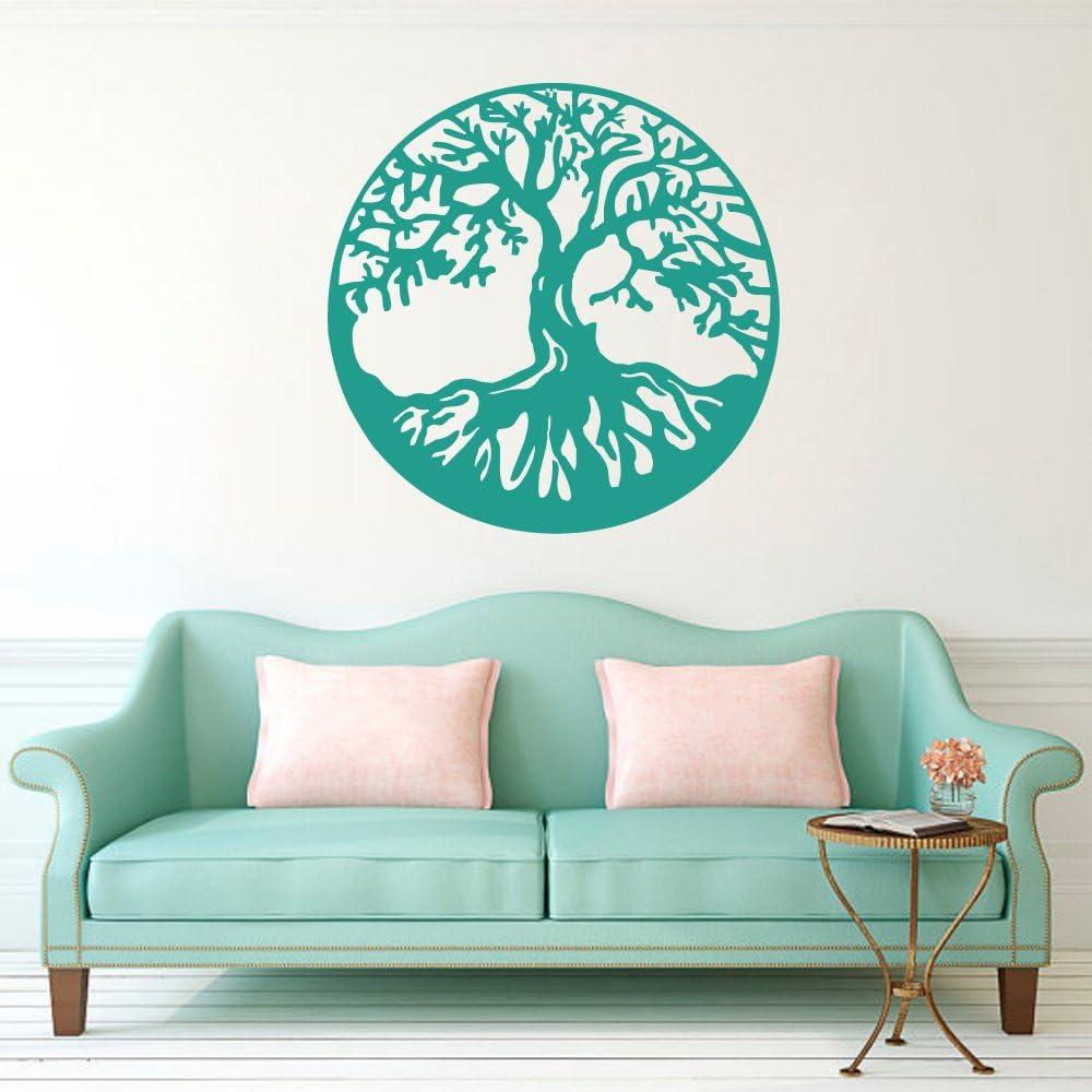 BATTOO Tree of Life Vinyl Wall Decal Sticker 32 h x32 w,Black Celtic Tree Life Wall D/¨/¦cor Culture Symbol Office Living Room Yoga Studio Wall Decoration