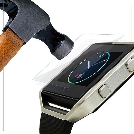 34 opinioni per EXINOZ® Fitbit Blaze Protezione quadrante in vetro temprato I Protezione di alta