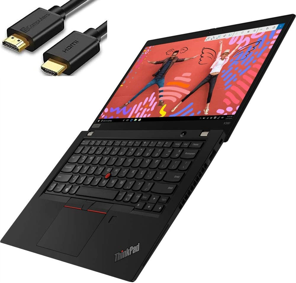 Lenovo Thinkpad X390 13.3″ IPS Full HD FHD (1920×1080) Business Laptop (Intel Quad-Core i7-8665U