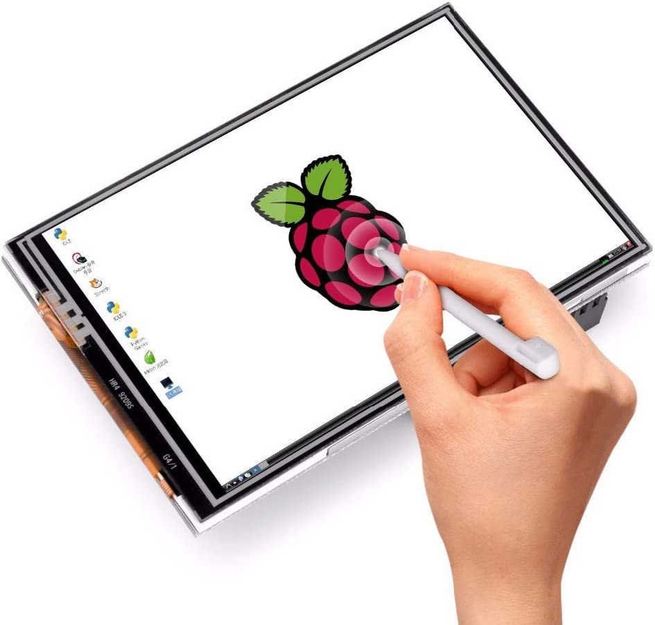 LANDZO Raspberry Pi 3.5 Inch Touch Display 480x320