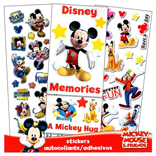 Disney Mickey Mouse and Minnie Mouse Stickers (Minnie Mouse Scrapbooking)