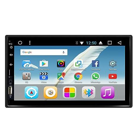 KKXXX S4 Android 7.0 Octa Core 2GB RAM 16GB ROM Estéreo del automóvil Navegación GPS Auto ...
