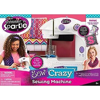Crazy Art Shimmer n Sparkle Crazy Sewing Machine
