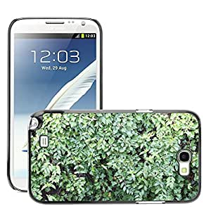 Etui Housse Coque de Protection Cover Rigide pour // M00150718 Modelo verde Bush deja la Naturaleza // Samsung Galaxy Note 2 II N7100