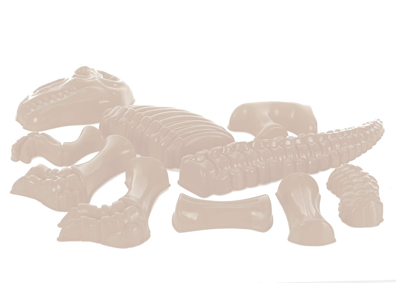 Dino Bones Mold Lime Green 12 x 3 Durable Acrylic Sandbox Accessory Toy