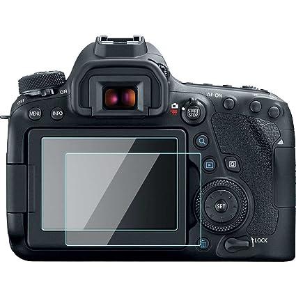 Canon EOS 6d Mark II/6dii/6D2 Touch Protector de pantalla película ...
