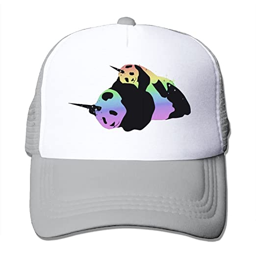 35dbfda80f81d FASHIONH Unisex Rainbow Unicorn Pandas Magic Sparkle Cuddle Mesh ...