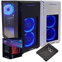 Pc desktop i7 8700,Ram 16 Gb Ddr4, Ssd 480 Gb, Windows 10 Pro,Computer fisso,assemblato,completo per ufficio,Pc fisso i7