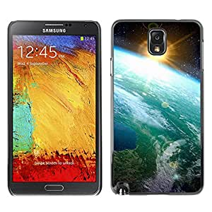 Hot Style Cell Phone PC Hard Case Cover // M00102600 outer nature sun space // Samsung Galaxy Note 3