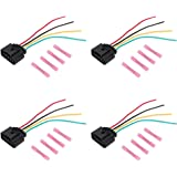 Amazon com: AUTOKAY 4pcs Ignition Coil Connector Repair Kit Harness