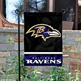 Baltimore Ravens Double Sided Garden Flag