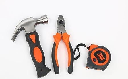 Kit de herramientas de reparación para el hogar, 9 piezas en 1, multifuncional y universal, juego de herramientas de reparación de destornilladores de ...