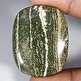79.75Cts.100% Natural Ocean Jasper Cushion Cab Fine Quality Loose Gemstones