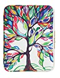 CoolBELL 12.9 Inch iPad Pro Sleeve Case Surface Pro 4 Cover With Colorful Life Tree Pattern Fabric Sleeve Canvas Bag Exclusive For iPad Pro / Surface Pro 4 / 12'' New Macbook / Women / Men