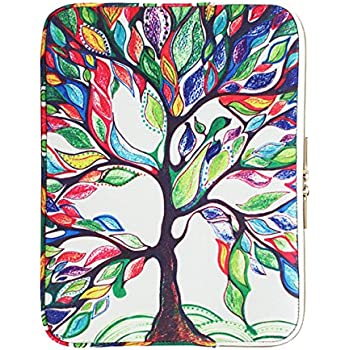 Amazon.com: CoolBELL 15.6 Inch Laptop Sleeve Case Cover with Colorful Life Tree Pattern