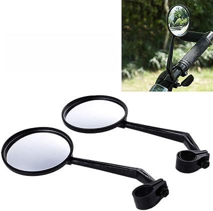 Flyes 1 Paire de bicyclettes d/équitation de Bicyclette de v/élo r/éfl/échissant Un Miroir 360 de r/étroviseur de Rotation