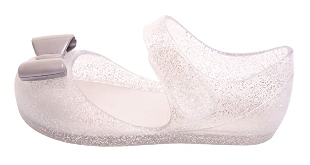 8b992f0d506a Igor S10167 Mia Lazo Girls Jelly Sandal Silver Glitter 20 M EU 4 US Toddler   Amazon.co.uk  Shoes   Bags