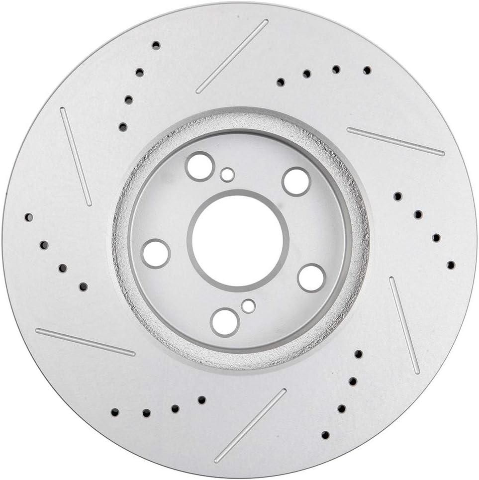 2pcs Front Brake Discs Rotors Brakes Kits fit for 2009 2010 Pontiac Vibe,2008-2013 Scion xD,2009-2017 Toyota Corolla,2009 2010 2012 2013 Toyota Matrix 803426-5211-1828207622 ECCPP Brake Rotors