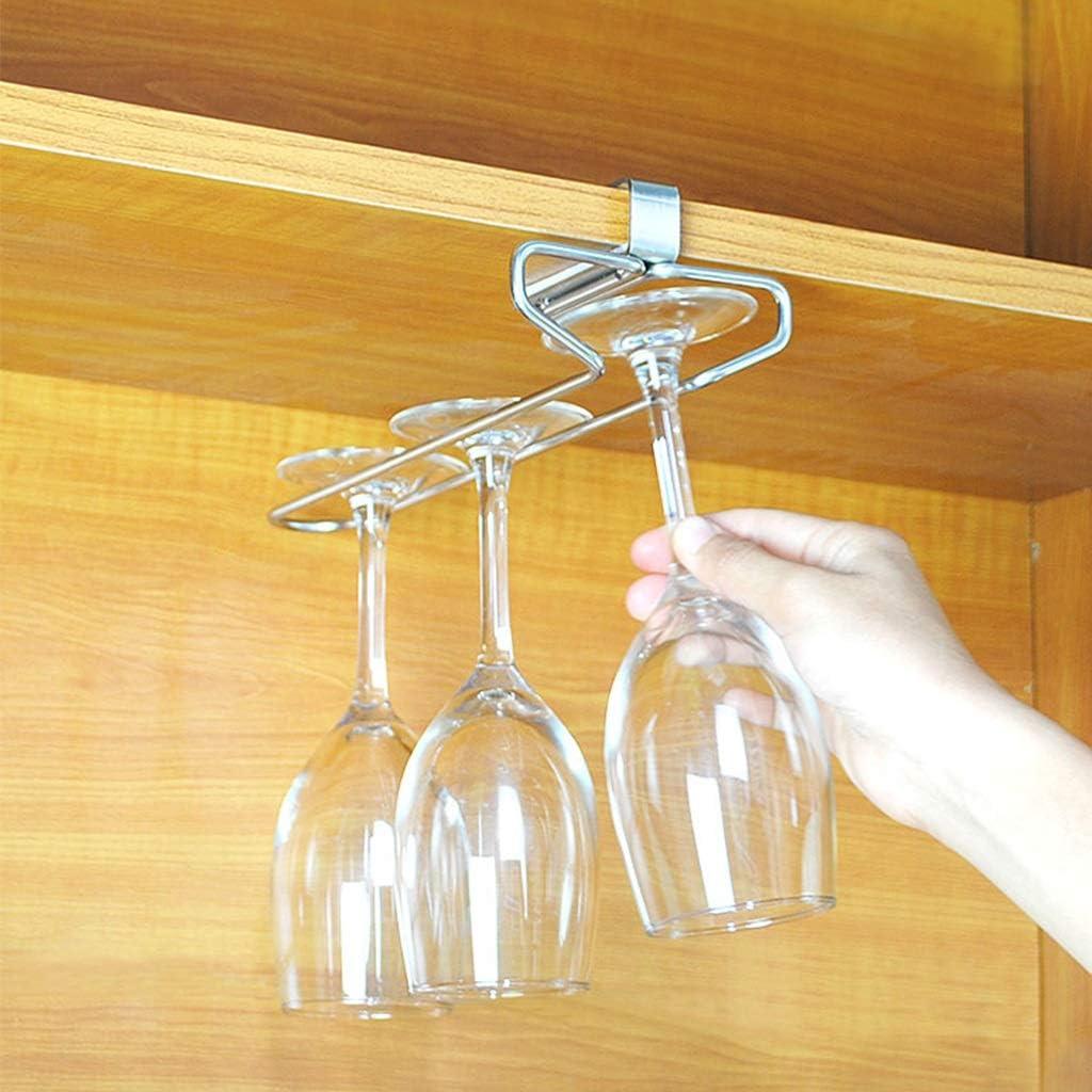 Vino Inverted Storage Getränkehalter Multifunktion Edelstahl Ohne Zapfen Single Row 26cm 10 5cm 6 7cm Küche Haushalt