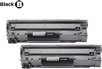 2PK CE285A Toner Cartridge For HP 85A Laserjet Pro P1102w M1139 M1214nfh Printer