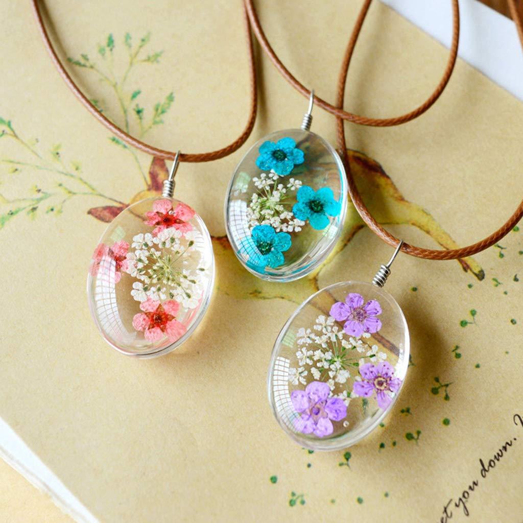 20 Pcs Pressed Dried Flowers Purple Flowers for DIY Phone Case Decoration