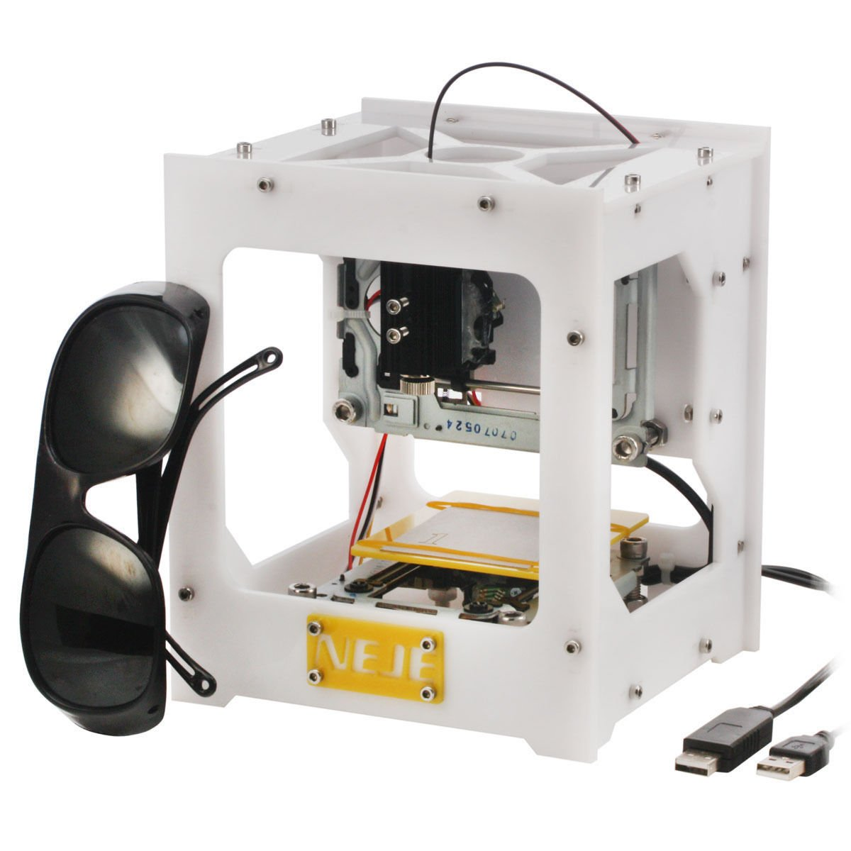300MW USB DIY Laser Engraver Cutter Engraving Cutting ...