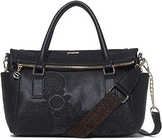 Desigual Damen Bag Dark Amber Loverty Women Henkeltasche, 9x24x29.5 cm