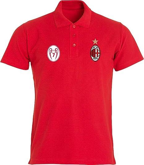 Clique AC Milan Polo Adulto Personalizada Made in Italy Passione ...
