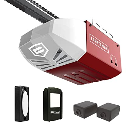 Craftsman 12 Hp Garage Door Opener Chain Drive Garage Door