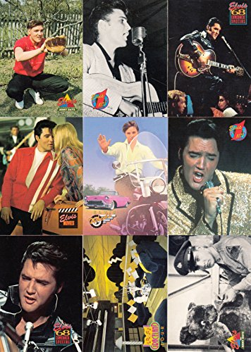 The Elvis Collection 1993 River Group Complete Promo Card Set Of 10