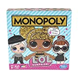 Monopoly Game: L.O.L. Surprise! Edition Board Game for Kids Ages 8 and Up
