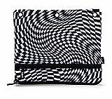 ZIPIT Illusions 3-Ring Pencil Case, Squares