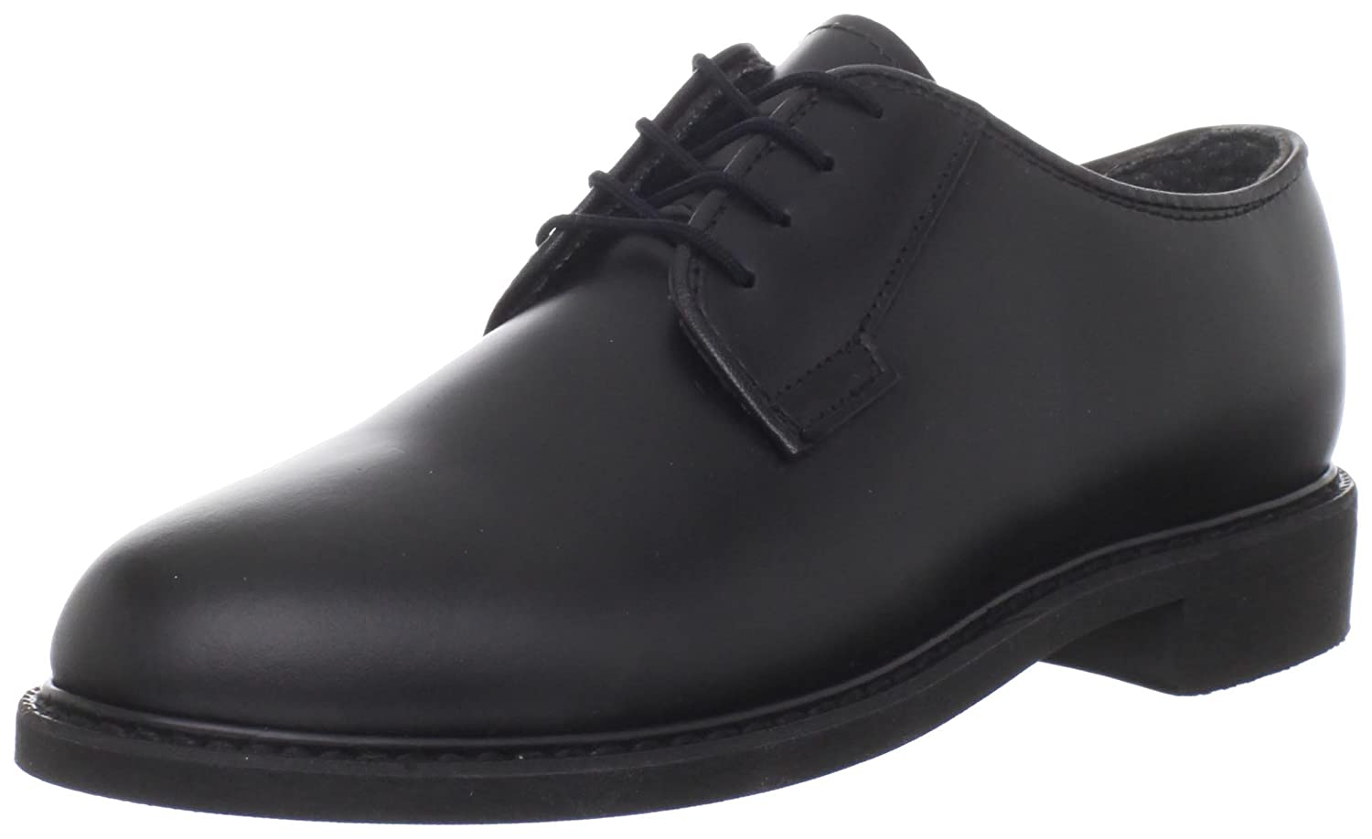 Bates Women's Leather Uniform Shoe B000GSTPQ6 6 XW US|Black