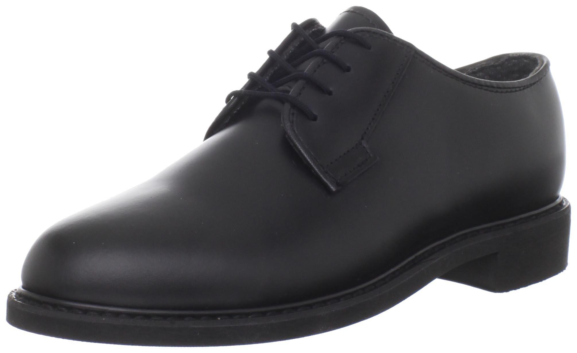 Bates Women's Leather Uniform Shoe,Black,4 M US