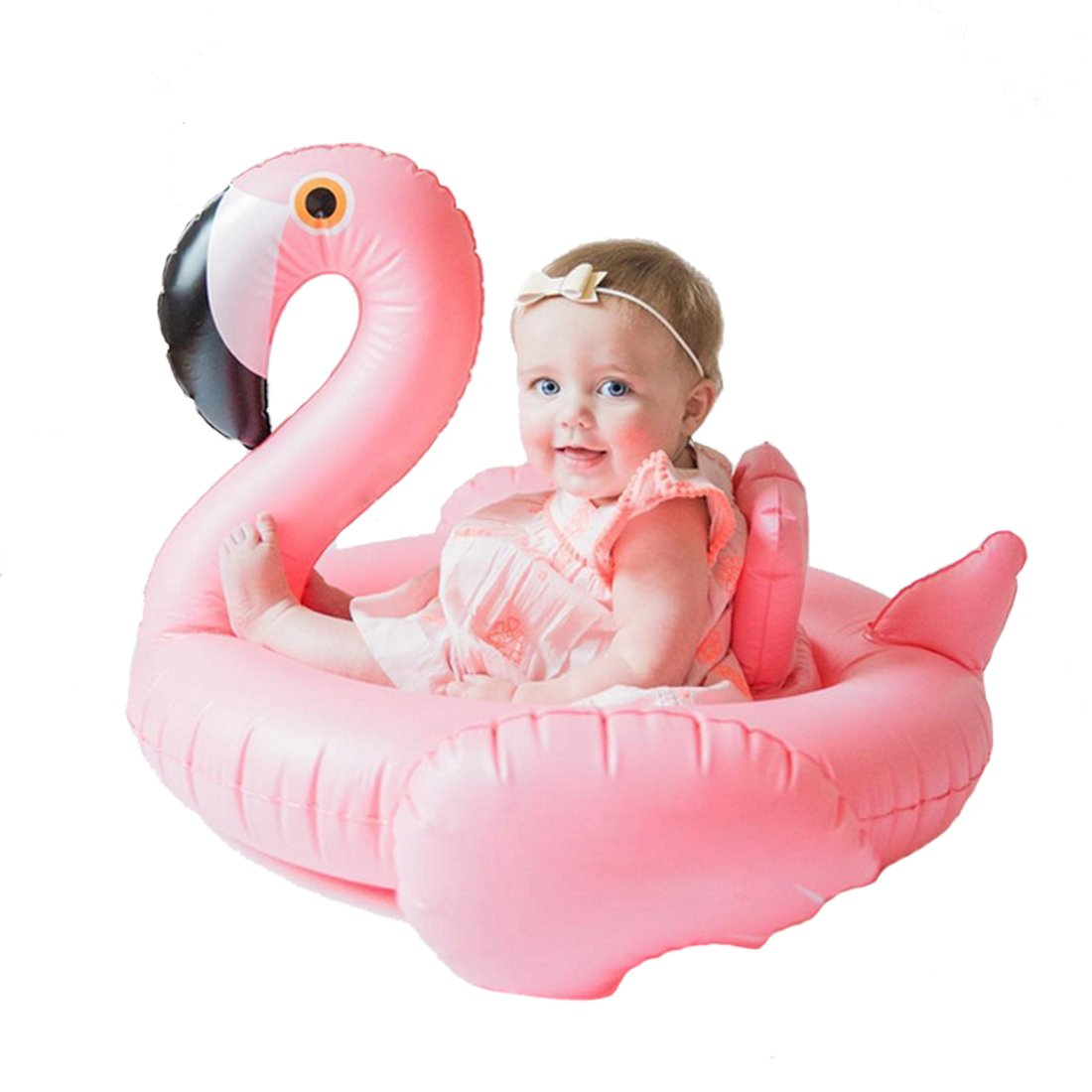 d77b2b888 outlet Inflatable Float Swimming Aids Pool Flamingo Swim Ring Pink Bird  Floaties Seat Boat Raft Summer