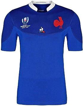 YHANS Camisetas de Rugby para Hombre,Rugby Jersey, 2019 Francia Copa del Mundo, Camisa Principal del Atleta,XXXL: Amazon.es: Deportes y aire libre