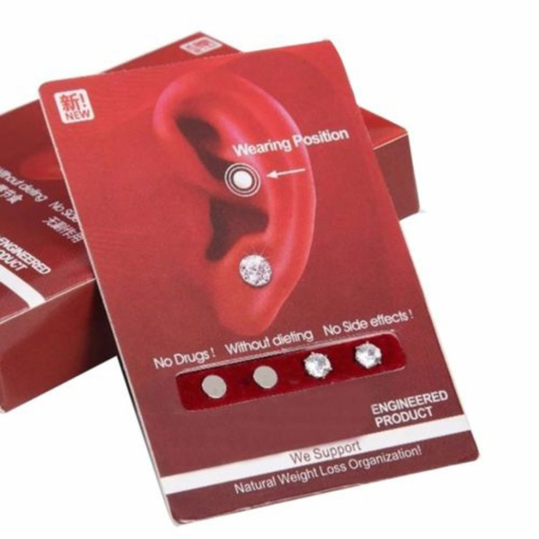 OppoLing Ear Nail Fat Burning Without Dieting Magnet Crystal Earring Ear Stud Valid Best Product by OppoLing (Image #5)