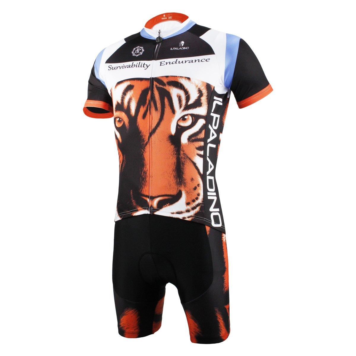 Paladin mens tiger pattern bike shirt short sleeve cycling jersey set  sports outdoors jpg 1200x1200 Bicycle dc89dac81