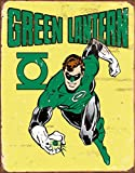 "Green Lantern - Retro Metal Tin Sign 16""h X 12.5""w"