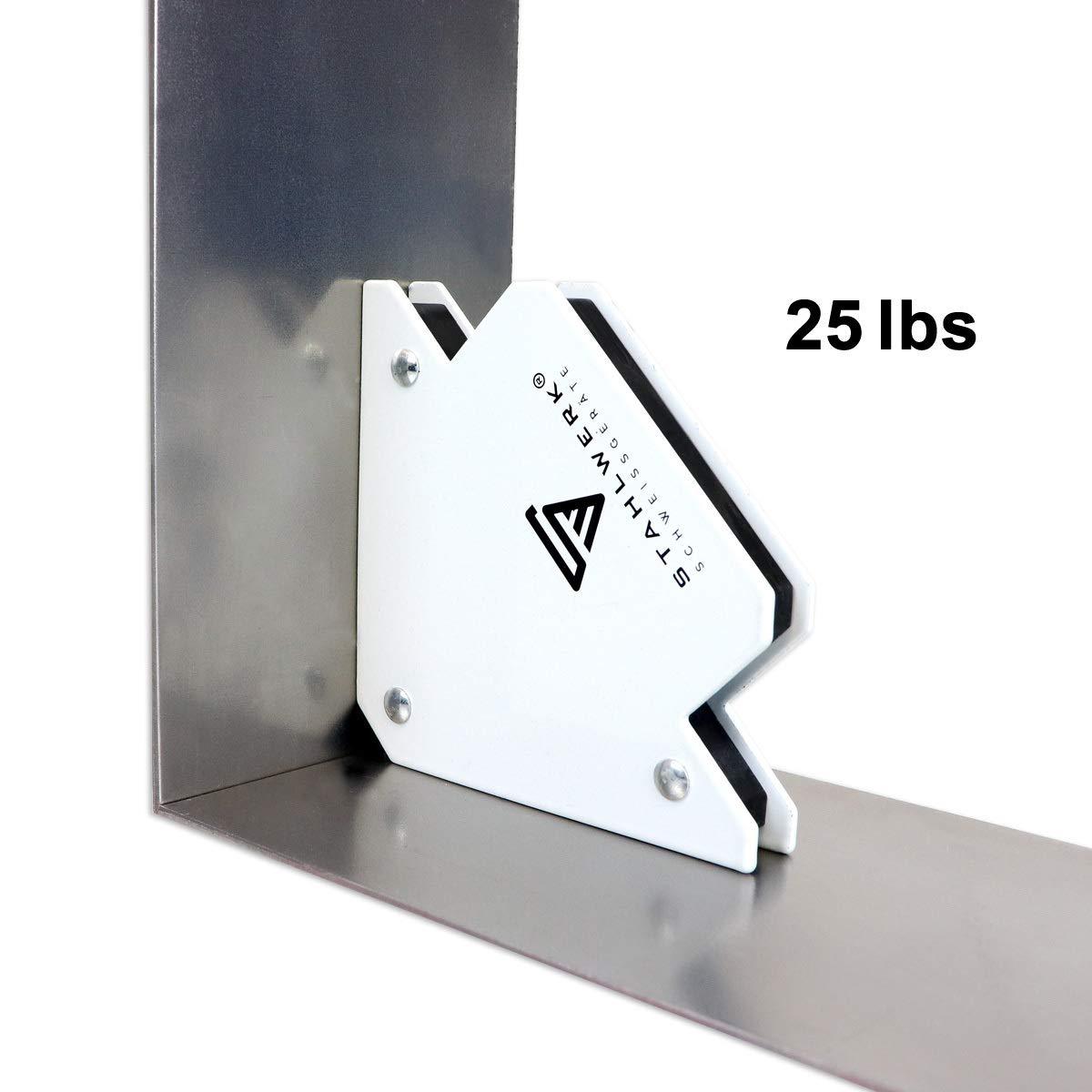 Stahlwerk Aimant de masse commutable jusqu/à 200 A pour c/âble de soudure charge jusqu/à 200 A pince de terre magn/étique qui apporte de la masse /à chaque pi/èce magn/étique