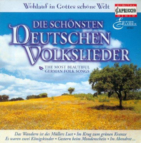 German Folk Songs - Zollner, C.F. / Reichardt, J.F. / Brahms, J. / Schubert, F. / Zuccalmaglio, A.W.F. Von / Kuhlau, F. (Folk German Songs)
