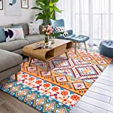 Fashion Geometry Home Rugs - MeMoreCool Nine Patterns No Fading Anti-slipping Simple Style Living Room Tea Table Carpets 55 X 79 Inch