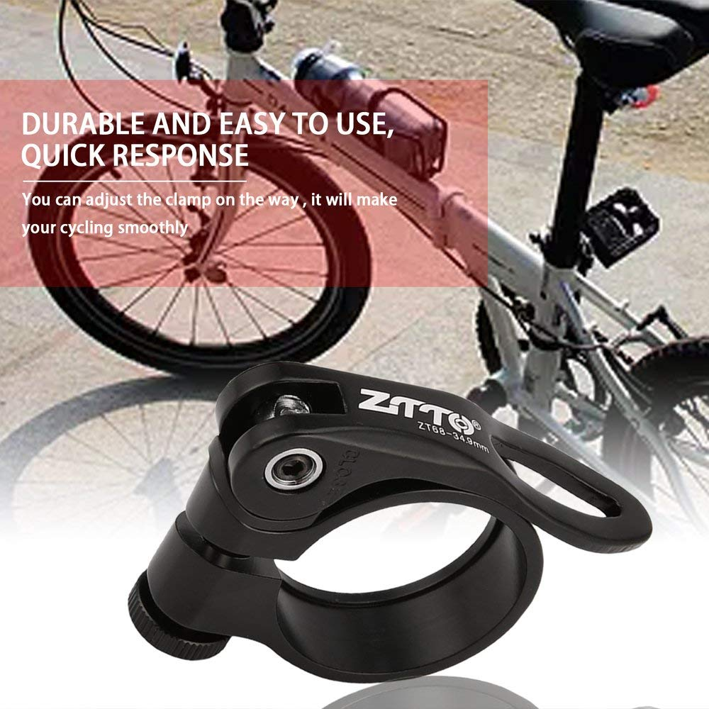 Road Bike MTB Seat Post Clamp Bicycle Saddle Quick Release Clip Alloy ZTTO YD25
